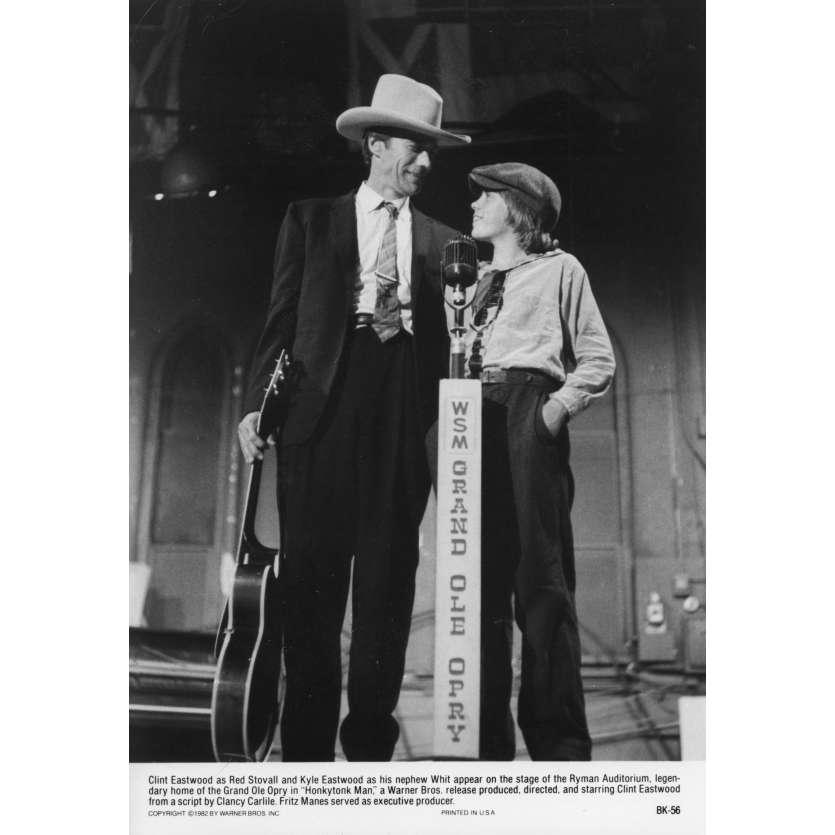HONKYTONK MAN Photo de presse N1 20x25 cm - 1982 - Clint Eastwood, Clint Eastwood