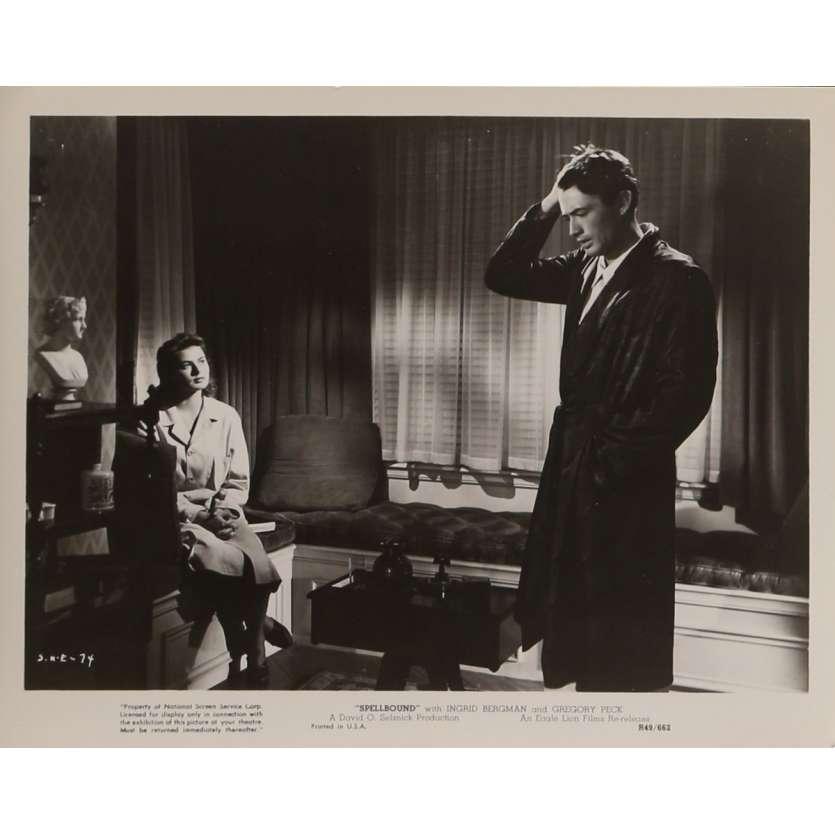 SPELLBOUND Movie Still N3 8x10 in. USA - R1949 - Alfred Hitchcock, Ingrid Bergman