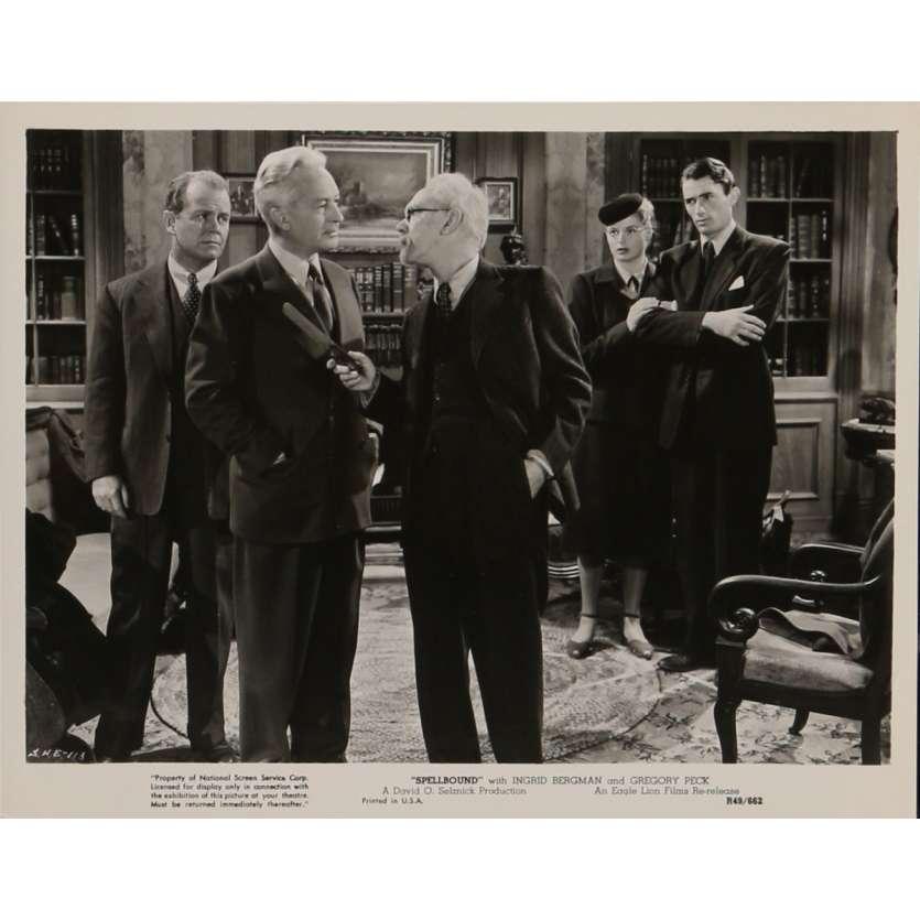 LA MAISON DU DOCTEUR EDWARDES Photo de presse N2 20x25 cm - R1949 - Ingrid Bergman, Alfred Hitchcock