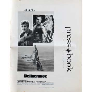 DELIVERANCE Pressbook 20 pages 11x14 in. USA - 1972 - John Boorman, Burt Reynolds