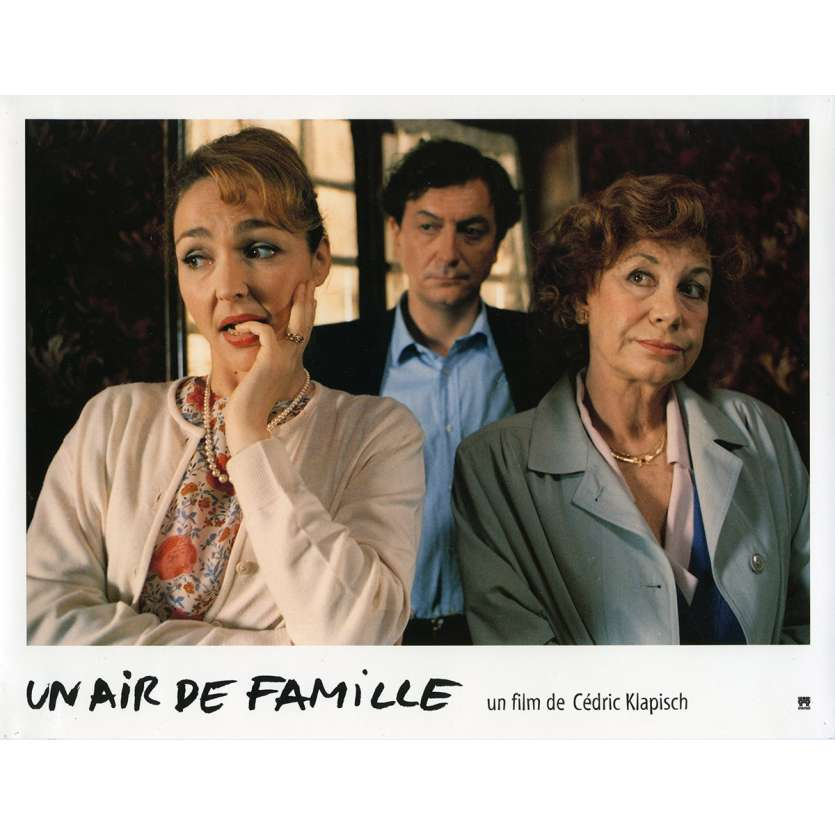 FAMILY RESSEMBLANCES Lobby Card N1 9x12 in. French - 1996 - Cédric Klapisch, Jean-Pierre Bacri