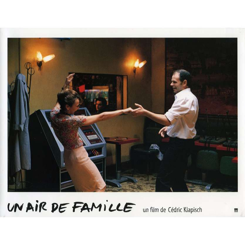 FAMILY RESSEMBLANCES Lobby Card N2 9x12 in. French - 1996 - Cédric Klapisch, Jean-Pierre Bacri