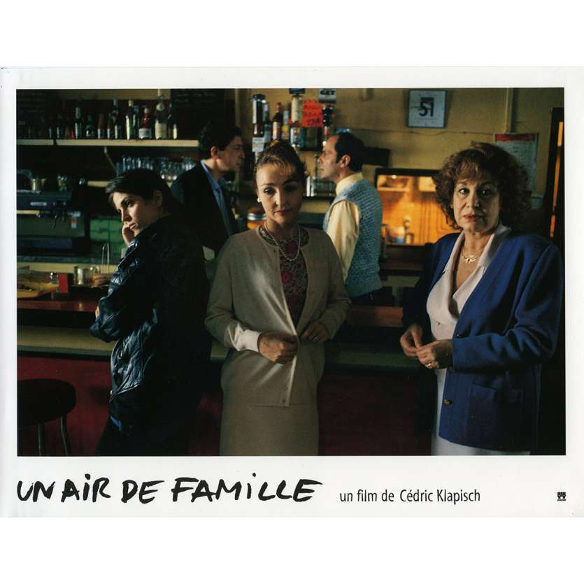 FAMILY RESSEMBLANCES Lobby Card N5 9x12 in. French - 1996 - Cédric Klapisch, Jean-Pierre Bacri