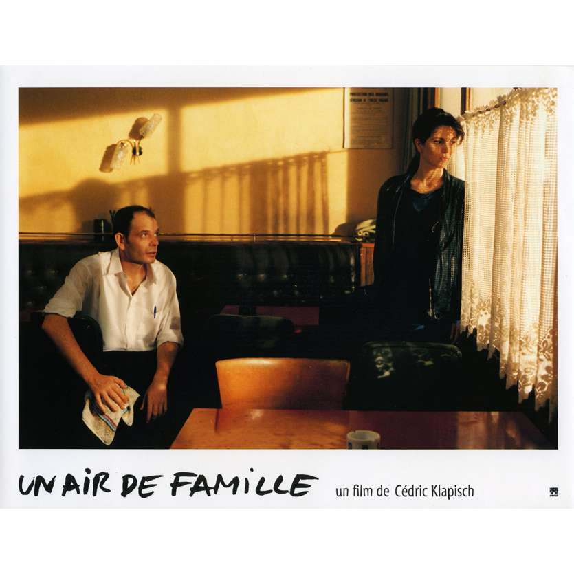 FAMILY RESSEMBLANCES Lobby Card N7 9x12 in. French - 1996 - Cédric Klapisch, Jean-Pierre Bacri