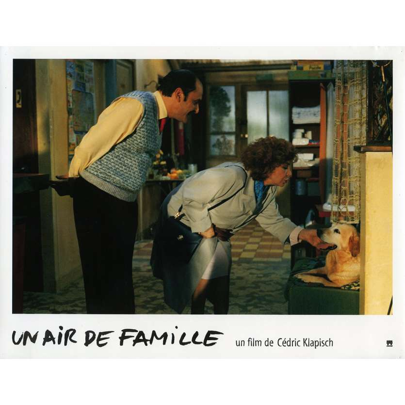 FAMILY RESSEMBLANCES Lobby Card N8 9x12 in. French - 1996 - Cédric Klapisch, Jean-Pierre Bacri