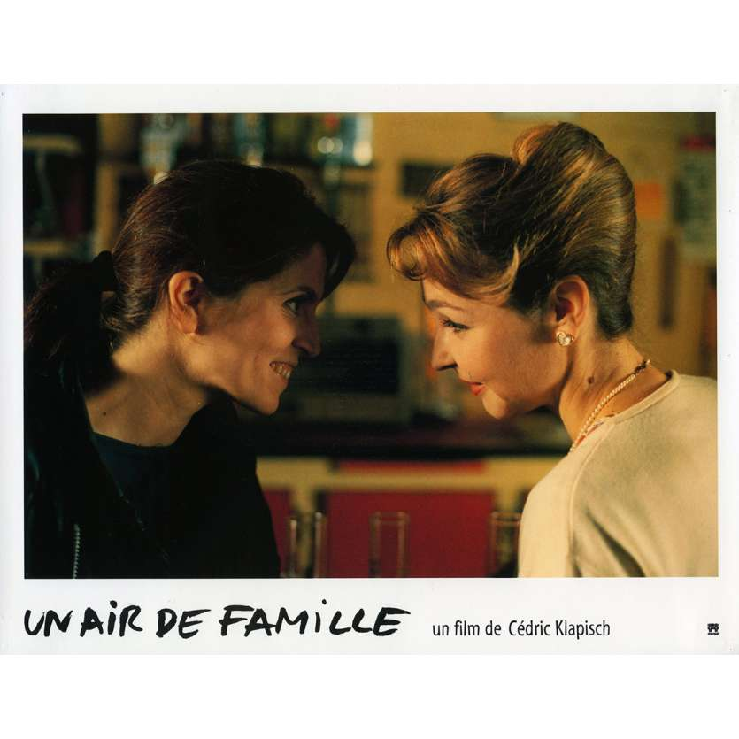 FAMILY RESSEMBLANCES Lobby Card N9 9x12 in. French - 1996 - Cédric Klapisch, Jean-Pierre Bacri