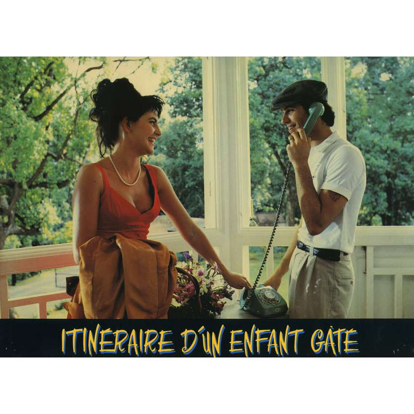 ITINERAIRE D'UN ENFANT GATE Photo de film N2 21x30 cm - 1988 - Jean-Paul Belmondo, Claude Lelouch