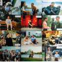 FORREST GUMP Lobby Cards x12 9x12 in. French - 1994 - Robert Zemeckis, Tom Hanks