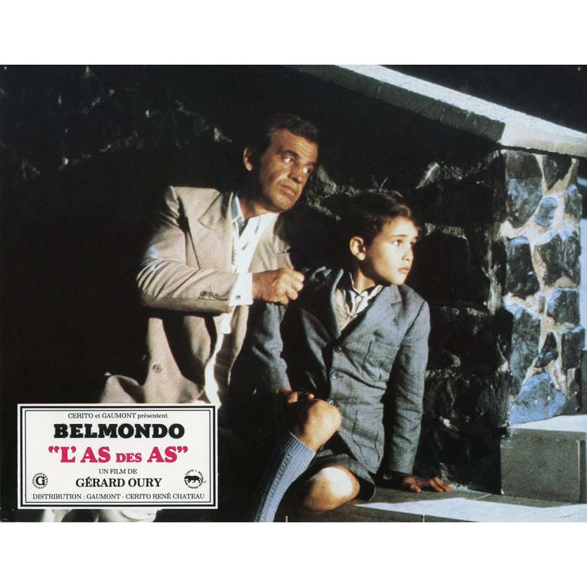 ACE OF ACES Lobby Card N6 9x12 in. French - 1982 - Gerard Oury, Jean-Paul Belmondo