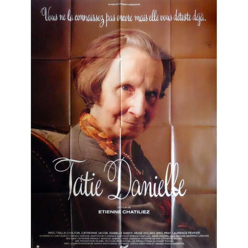 AUNTIE DANIELLE Movie Poster 47x63 in. French - 1990 - Etienne Chatillez, Tsilla Chelton