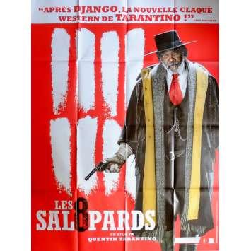 LES 8 SALOPARDS Affiche de film def. 120x160 cm - 2015 - Kurt Russel, Quentin Tarantino
