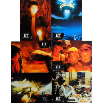 E.T. THE EXTRA-TERRESTRIAL Lobby Cards x6 9x12 in. French - 1982 - Steven Spielberg, Dee Wallace