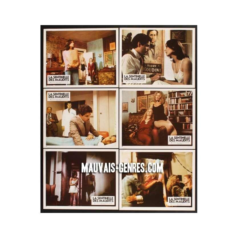 SENTINEL 12 French LCs '77 Chris Sarandon, Cristina Raines, Martin Balsam, John Carradine