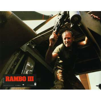 RAMBO 3 Photo de film N18 21x30 cm - 1988 - Richard Crenna, Sylvester Stallone