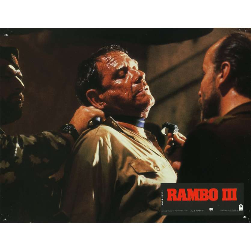 RAMBO 3 Photo de film N13 21x30 cm - 1988 - Richard Crenna, Sylvester Stallone