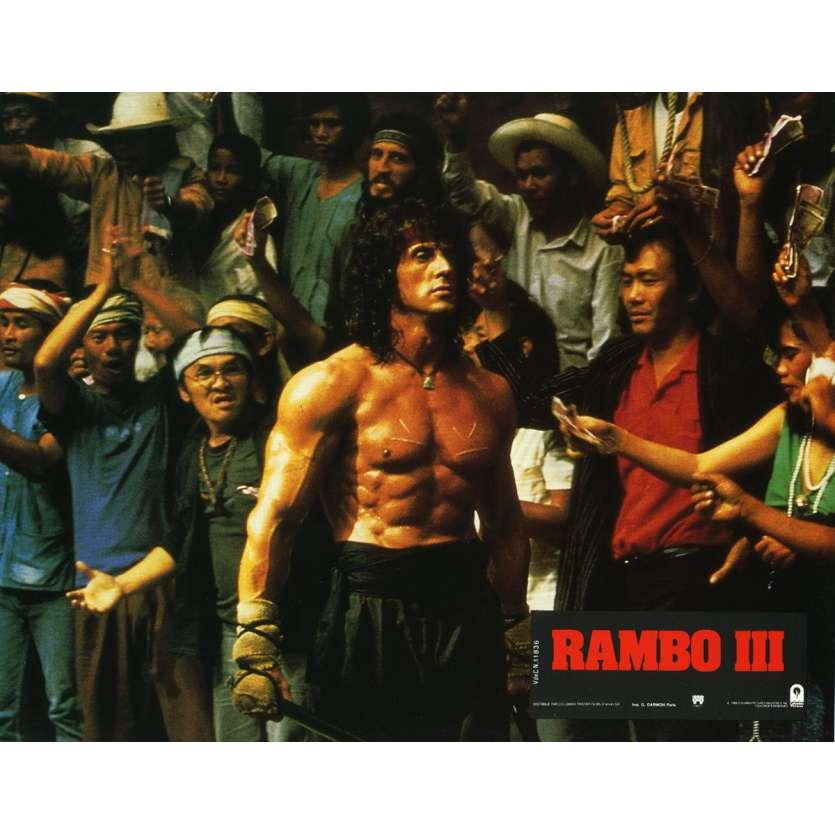 RAMBO 3 Photo de film N6 21x30 cm - 1988 - Richard Crenna, Sylvester Stallone