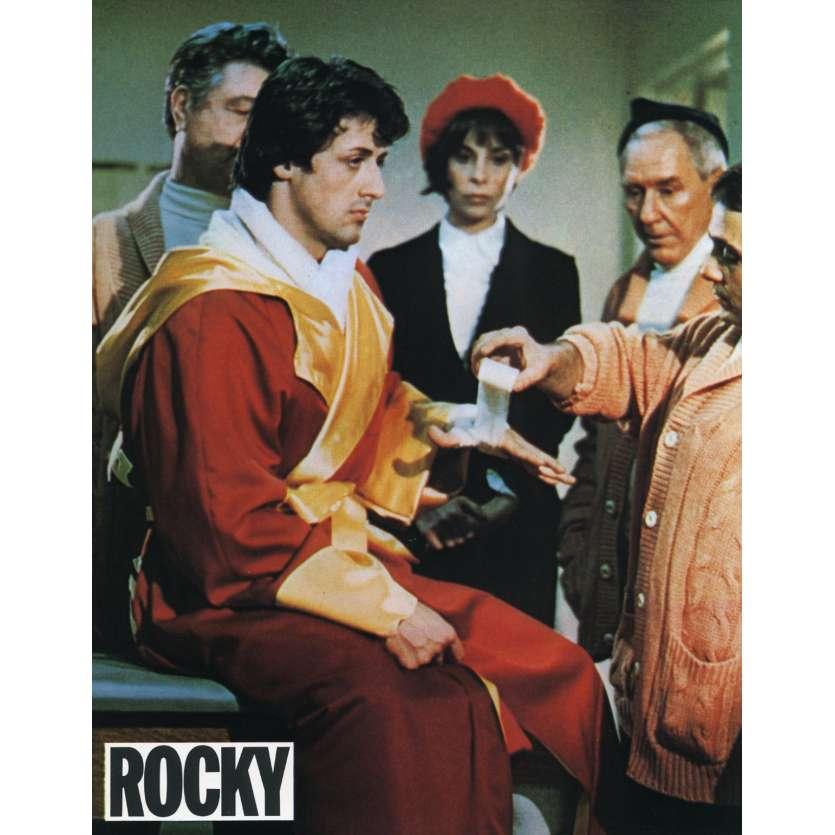 ROCKY Lobby Card N16 9x12 in. French - 1976 - John G. Avildsen, Sylvester Stallone