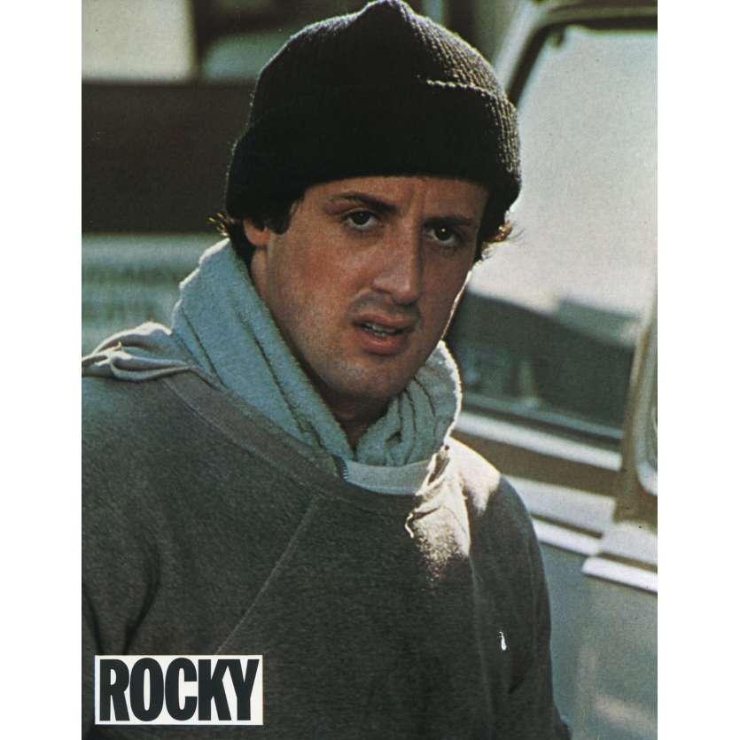 ROCKY Lobby Card N11 9x12 in. French - 1976 - John G. Avildsen, Sylvester Stallone