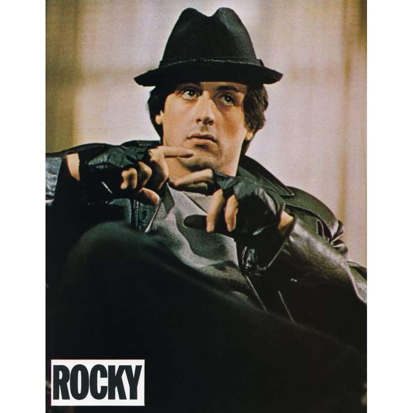 ROCKY Lobby Card N10 9x12 in. French - 1976 - John G. Avildsen, Sylvester Stallone