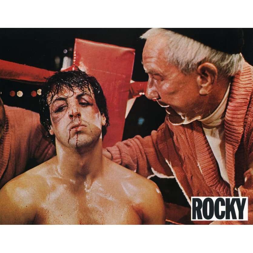 ROCKY Lobby Card N9 9x12 in. French - 1976 - John G. Avildsen, Sylvester Stallone