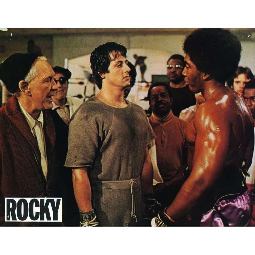 ROCKY Lobby Card N7 9x12 in. French - 1976 - John G. Avildsen, Sylvester Stallone