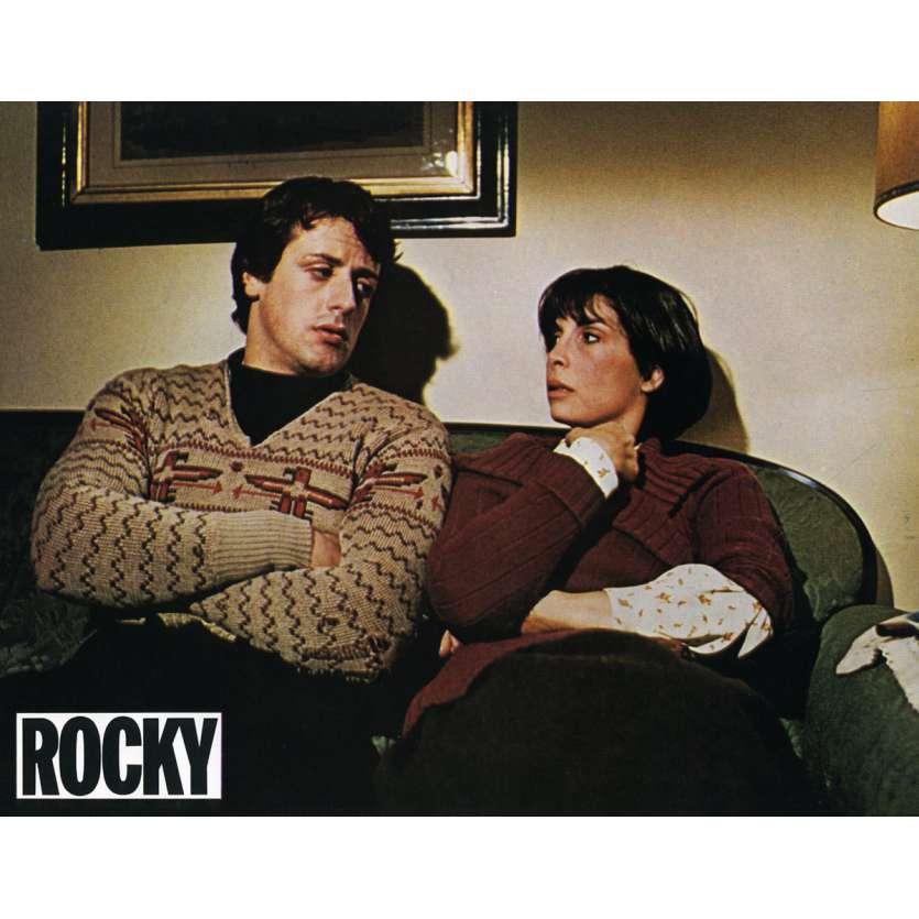 ROCKY Lobby Card N5 9x12 in. French - 1976 - John G. Avildsen, Sylvester Stallone