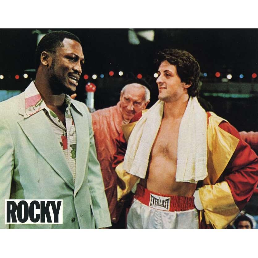 ROCKY Lobby Card N3 9x12 in. French - 1976 - John G. Avildsen, Sylvester Stallone