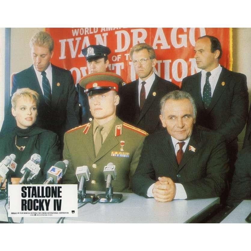 ROCKY 4 Photo de film N11 21x30 cm - 1985 - Dolph Lundgren, Sylvester Stallone
