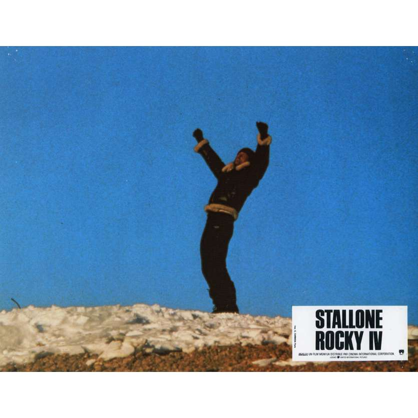 ROCKY 4 Photo de film N6 21x30 cm - 1985 - Dolph Lundgren, Sylvester Stallone