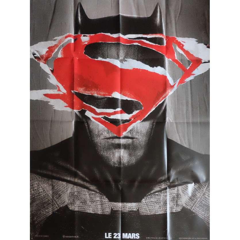 BATMAN VS SUPERMAN Affiche de film BT 120x160 cm - 2016 - Ben Affleck, Zack Snyder