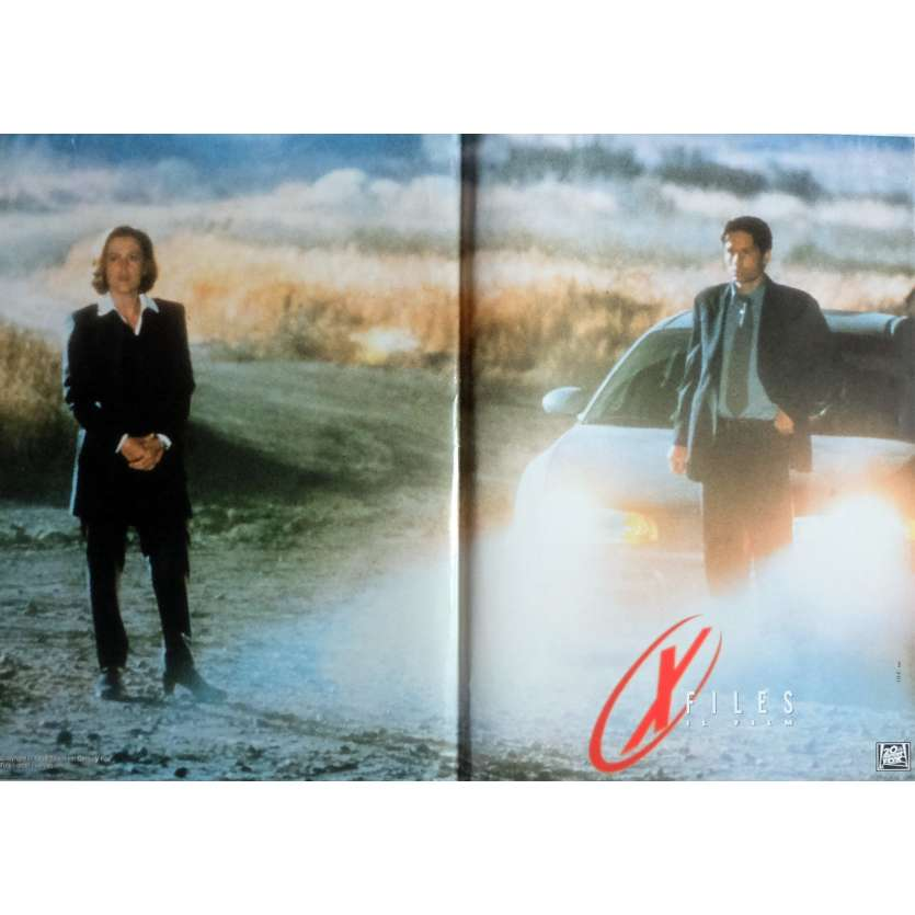 X-FILES Photobusta Poster N2 15x21 in. Italian - 1998 - Rob Bowman, David Duchovny