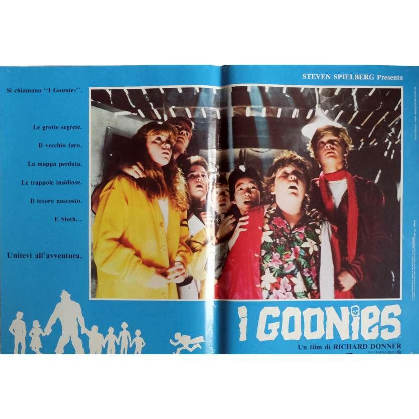 THE GOONIES Photobusta Poster N7 15x21 in. Italian - 1985 - Richard Donner, Sean Astin