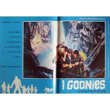 THE GOONIES Photobusta Poster N6 15x21 in. Italian - 1985 - Richard Donner, Sean Astin