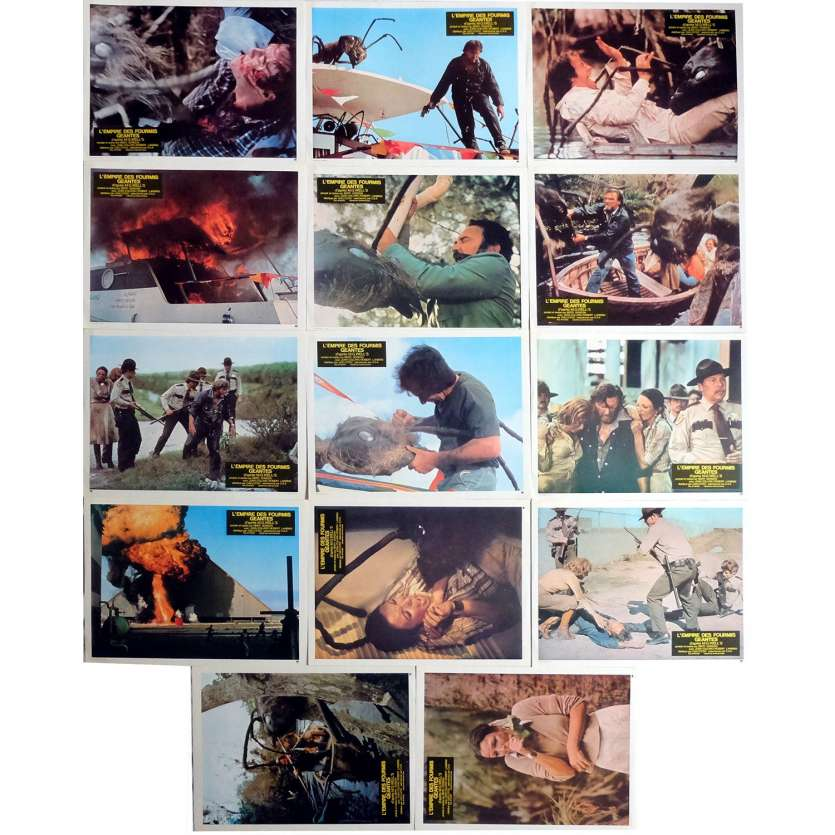 L'EMPIRE DES FOURMIS GEANTES Photos de film x14 21x30 - 1977 - Joan Collins, Bert Gordon