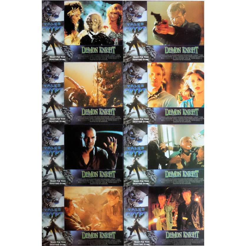 TALES FROM THE CRYPT: DEMON KNIGHT Lobby Cards x8 11x14 in. USA - 1995 - Ernest R. Dickerson, Billy Zane