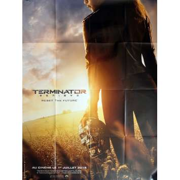 TERMINATOR GENESIS - Affiche de film pliée 120x160 - 2015 - Schwarzenegger