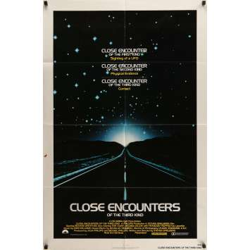 CLOSE ENCOUNTERS OF THE THIRD KIND Movie Poster '77 Steven Spielberg's sci-fi classic