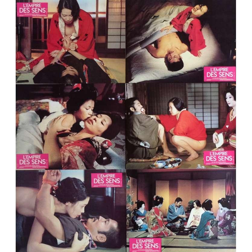 L'EMPIRE DES SENS Photos x6 21x30 - 1976 - Eiko Matsuda, Nagisa Oshima
