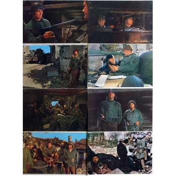 KELLY'S HEROES Lobby Cards x8 9x12 in. French - 1970 - Clint Eastwood, Telly Savalas