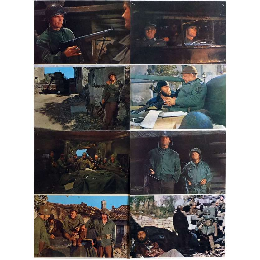 DE L'OR POUR LES BRAVES Photos de film x8 21x30 cm - 1970 - Telly Savalas, Clint Eastwood