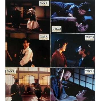TABOO Lobby Cards x7 9x12 in. French - 1999 - Nagisa Oshima, Takeshi Kitano
