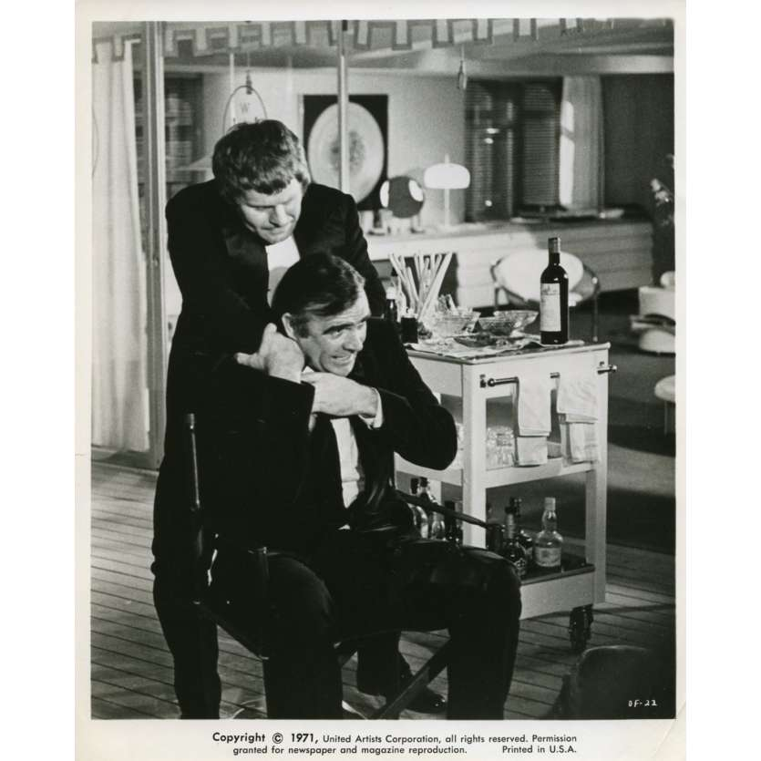 DIAMONDS ARE FOREVER Movie Still N6 8x10 in. USA - 1971 - Guy Hamilton, Sean Connery