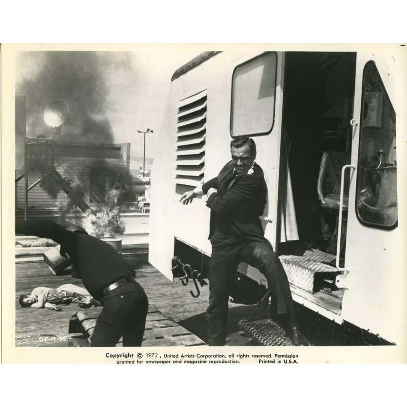 LES DIAMANTS SONT ETERNELS Photo de presse N5 20x25 cm - 1971 - Sean Connery, Guy Hamilton