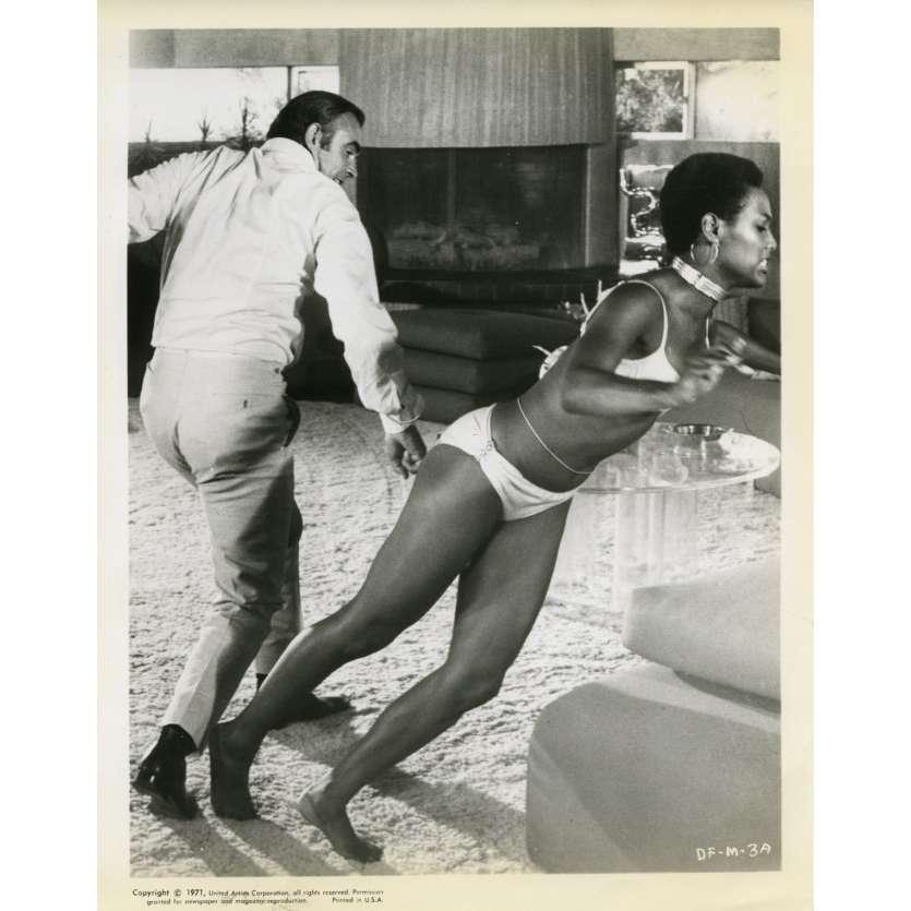 LES DIAMANTS SONT ETERNELS Photo de presse N3 20x25 cm - 1971 - Sean Connery, Guy Hamilton