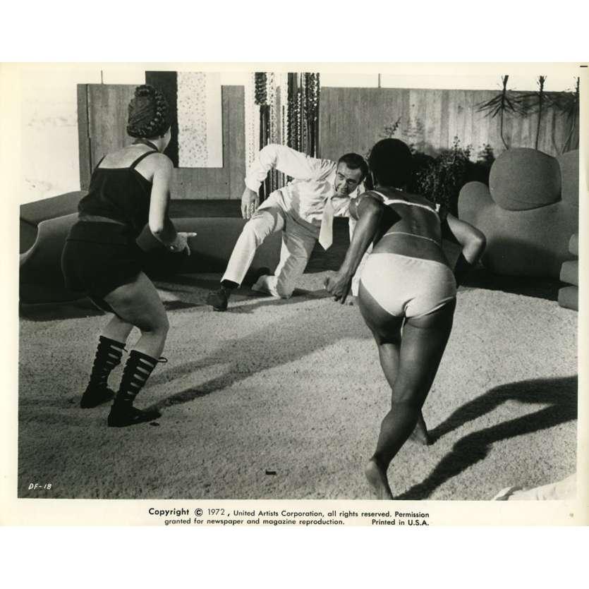 LES DIAMANTS SONT ETERNELS Photo de presse N2 20x25 cm - 1971 - Sean Connery, Guy Hamilton