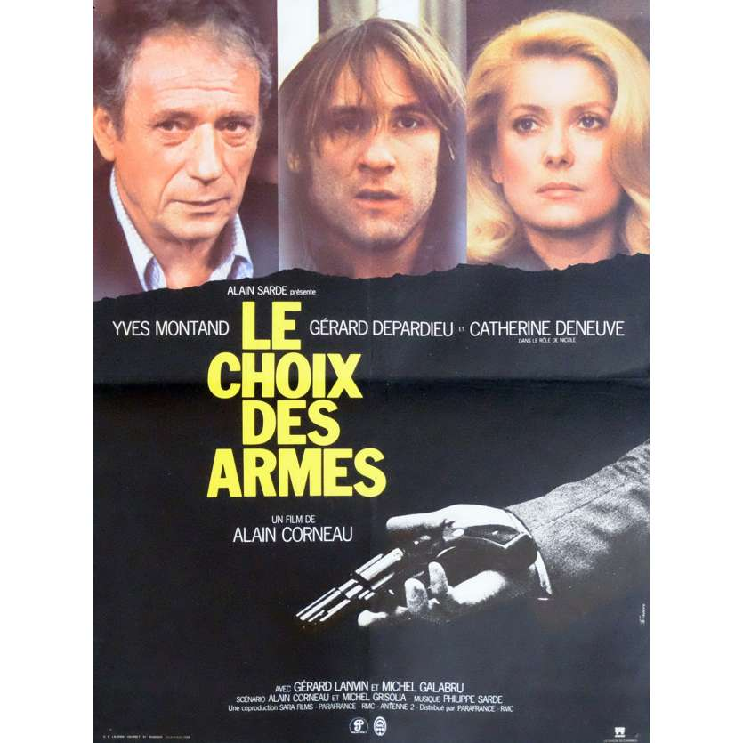 CHOICE OF ARMS French Movie Poster 15x21 - 1981 - Alain Corneau, Yves Montand