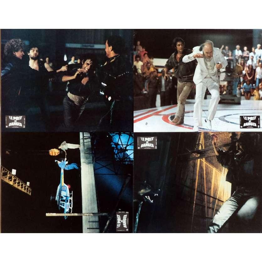LE PRIX DU DANGER Photos de film x4 21x30 cm - 1983 - Gérard Lanvin, Yves Boisset