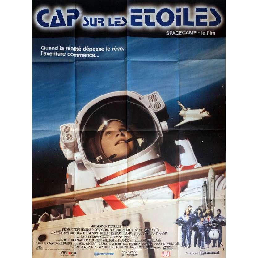 CAP SUR LES ETOILES Affiche de film 120x160 cm - 1986 - Kate Capshaw, Harry Winer