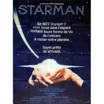 STARMAN Movie Poster 47x63 in. French - 1984 - John Carpenter, Jeff Bridges
