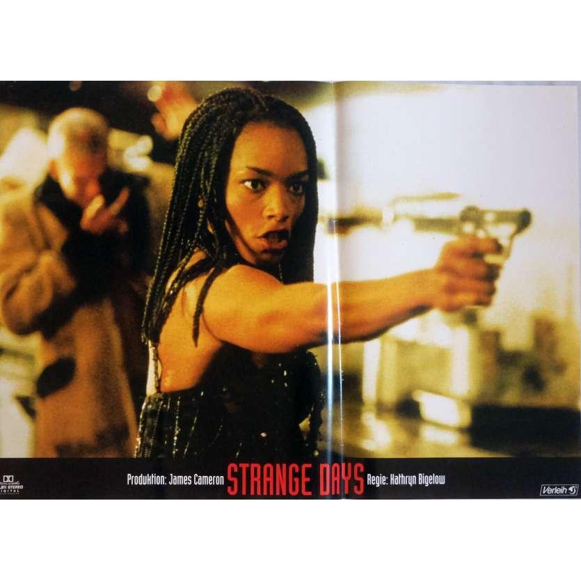 STRANGE DAYS Photobusta Poster N2 15x21 in. German - 1995 - Kathryn Bigelow, Ralph Fiennes